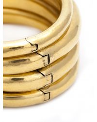 Vaubel - Metallic Multi-hinged Bangle - Lyst