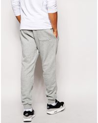 Nike Gray Aw77 Cuffed Joggers for men