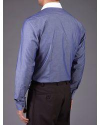 Skopes Blue Contemporary Collection Shirt for men