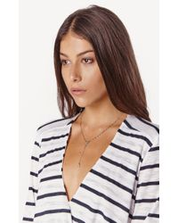 Natalie B. Jewelry | Metallic Roma Rosary | Lyst