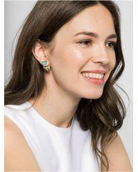 BaubleBar   Metallic Lapis Fringe Tassel Ear Jackets   Lyst