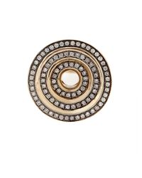 Noor Fares - Gray Eternity Step Gold & Diamond Ring - Lyst