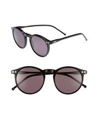 Wildfox - Black 'steff' 50mm Sunglasses - Lyst