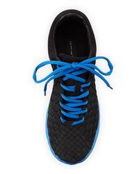 Steven by Steve Madden - Blue Tommii Woven Sneaker - Lyst