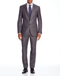 Canali - Gray Nailhead Windowpane Firenze Regular Fit Suit - Bloomingdale's Exclusive for Men - Lyst