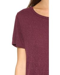 Rag & Bone - Purple Concert Tee - Lyst