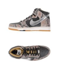 Nike | Gray High-tops & Trainers for Men | Lyst
