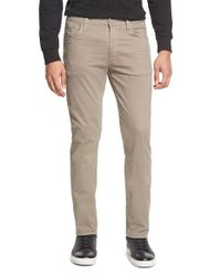 Citizens of Humanity Natural 'bowery' Slim Fit Twill Pants for men
