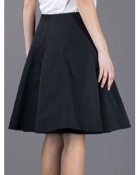 Lanvin Black Aline Skirt