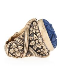 Stephen Dweck - Blue Carved Sodalite Ring Size 7 - Lyst
