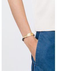 Leivan Kash - Blue Beaded Feather Bracelet - Lyst