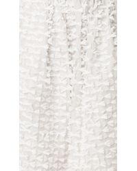 Tibi | Gray Ribbon Fil Coupe Culottes | Lyst