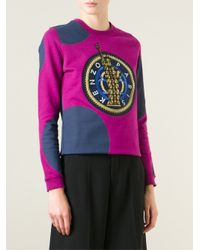 KENZO - Multicolor Dots and Liberty Cotton Sweatshirt - Lyst