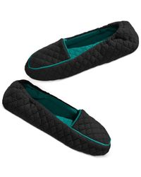 Hue | Black Women's Quilted Slipper Sock S | Lyst