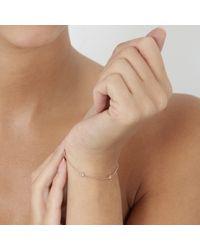 Astley Clarke - Pink Falling Leaf Bracelet - Lyst