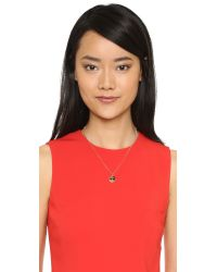 kate spade new york - Metallic Sunglasses Emoji Pendant Necklace - Red Multi - Lyst