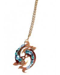 Matthew Williamson   Blue Pisces Pendant Necklace   Lyst