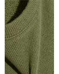 NLST - Green Loose-Fit Cotton Sweatshirt - Lyst