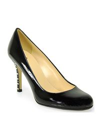 kate spade new york - Pump In Black Patent Leather - Lyst