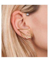 Leivan Kash | Metallic Tessa Ear Cuff & Stud | Lyst