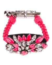 Shourouk | Pink 'baraka Sierra' Bracelet | Lyst