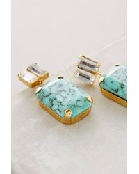 Elizabeth Cole | Blue Nahoon Earrings | Lyst