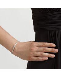 John Lewis | Metallic Fine Diamante Mesh Bracelet | Lyst