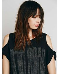 Free People | Black We The Free Womens We The Free Kick Around Graphic Maxi | Lyst