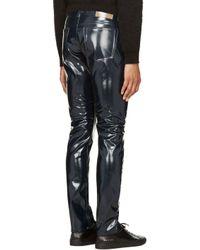 Marc By Marc Jacobs Blue Deep Indigo Pvc Jeans for men
