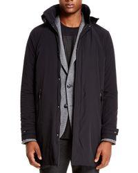 DKNY - Black Sport Raincoat - Lyst