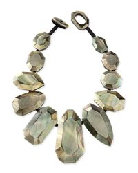 Viktoria Hayman | Green Black-lip Mother-of-pearl Statement Necklace for Men | Lyst
