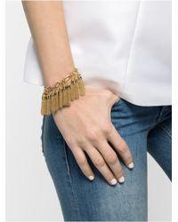 BaubleBar | Metallic Mini Chain Tassel Bracelet | Lyst
