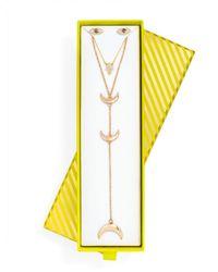 BaubleBar - Metallic Trending: Iconography Gift Set - Lyst