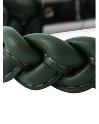 Valentino | Green Braided Bracelet for Men | Lyst
