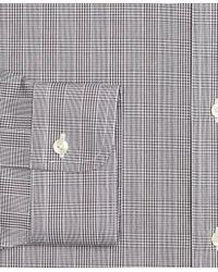Brooks Brothers | Black Non-iron Madison Fit Glen Plaid Dress Shirt for Men | Lyst