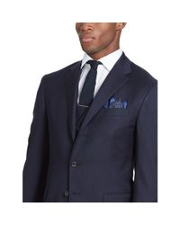 Polo Ralph Lauren Blue Polo Striped Wool 3-piece Suit for men
