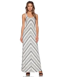 Bella Luxx - White Maxi Tank Dress - Lyst