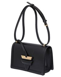 Loewe | Black Barcelona 24 Box Leather Shoulder Bag | Lyst