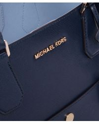 MICHAEL Michael Kors - Blue Large Greenwich Tote Bag - Lyst