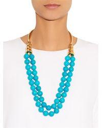 Aurelie Bidermann Blue Lakotas Necklace