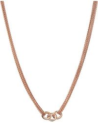 Links of London | Pink Signature Multi-chain Necklace - For Women | Lyst