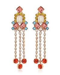 """Mawi - Multicolor """"barbarella"""" Collection Earrings - Lyst"""