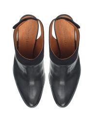 Whistles Black Alder Leather Shoe Boots