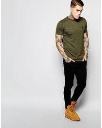 Criminal Damage Green Jimmy T-shirt In Nep for men