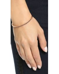 Samantha Wills - Pink Moonlight Mile Bangle Bracelet - Rose Gold/black - Lyst