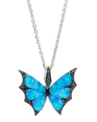 Stephen Webster | Metallic Fly By Night Opalescent Quartz Bat-moth Pendant Necklace | Lyst