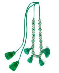 Shourouk - Multicolor Satoir Necklace - Lyst