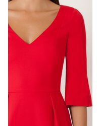 Black Halo Adrienne Sheath Dress In Chic Red