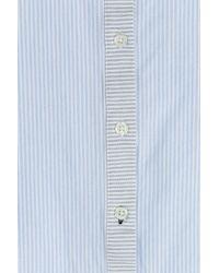 Jonathan Simkhai - Tie Front T-back Top - Blue - Lyst