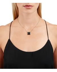 Alexis Bittar | Black Lucite Pyramid Pendant You Might Also Like | Lyst